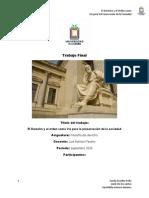 Trabajo final filosofia de derecho
