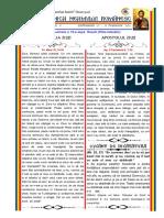 Duminica neamului romanesc 07-13-02-2021