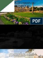 Palais et jardin du Luxembourg