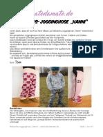 Hanni Jogginghose SM + eBook