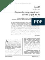 Warren Bannis - Desarrollo Organizacional- Qué Es y Qué No Es