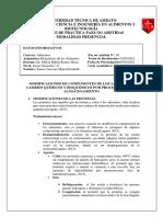 MODIFICACIONES DE COMPONENTES DE LOS ALIMENTOS