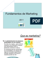 FUNDAMENTOS DE MARKETING PARA envio ene 2011
