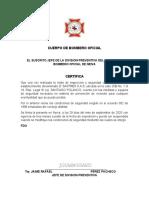 Cuerpo de Bombero Oficial