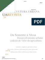 Urban Agricultura