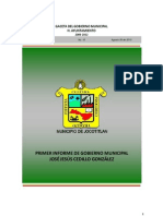 Primer Informe de Gobierno Municipal Jocotitlán