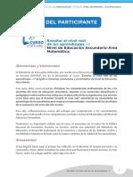 Guia Del Participante en La Enseñanza a Nivel Real Ccesa007
