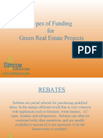 How to Fund Green Real Estate Projects
