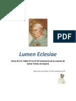 Lumen Eclesiae