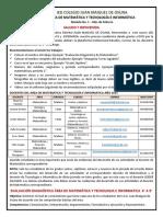 Modulo 1 de Matematicas y Tecnologia