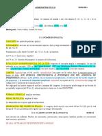 Desarollo Clases (Administrativo II)