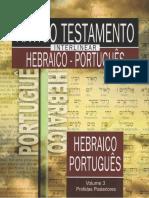 Antigo T - Interlinear Hebraico-Portugués Vol 3