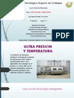 Ultra presion y temperatura