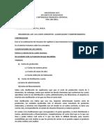 RESUMEN DE ASPECTOS DEL CAP. I I- continuacion clasificacion del costo (1)