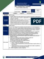 1P Guía 2 Inglés JT 11-3
