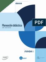 Planeación Docente U2 - Física I (1)