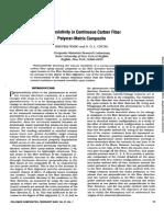 2004_Piezoresistivity in continuous carbon fiber polymer‐matrix composite
