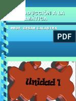 Unidad i - Primera Parte
