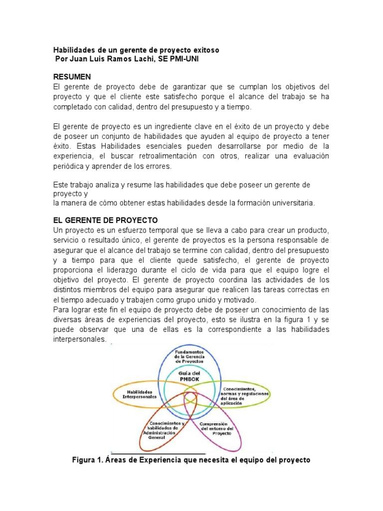Perfecto Gerente Reasume Habilidades Friso - Colección De Plantillas ...