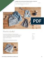 Stofftaschen aus Stoffresten _ Schauen Sie sich das kreative DIY-Projekt der Schwestern an _ Søstrene Grene