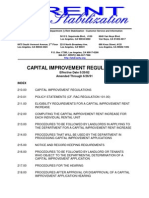CAPITAL IMPROVEMENT REGULATIONS