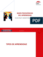 2) TIPOS DE APRENDIZAJE