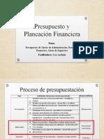 5. PRESUPUESTO DE GASTOS ADMINISTRATIVOS, RESULTADO FINANCIERO Y GASTO DE IMPUESTOS