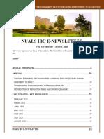 658VOL IX - NUALS IBC E-Newsletter (2)