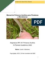 Manual de Primeros Auxilios para Picaduras y Mordeduras MSc. Joselin Valladares-convertido (2)