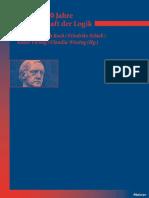 【黑格尔研究】Hegel —— 200 Jahre