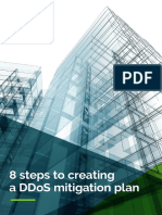 8 Steps to Creating a DDOS Mitigation Plan Report
