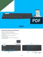 Tastatur-k375s
