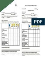 Annex B. Client Feedback Form (Minimum Standard)