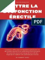 Battre la dysfonction erectile