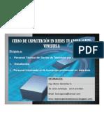 CURSO DE CAPACITACIÓN DE REDES TV CABLE(CATV)