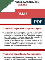 AULA COMPLEMENTAR - TRANSTORNOS DE APRENDIZAGEM