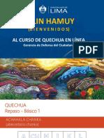 PPT - Repaso Básico 1 - Quechua (1)