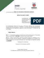 Edital n° 023-2020 – COGEPS – Composição Definitiva das Bancas Examinadoras
