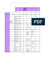 BEC TIMETABLE