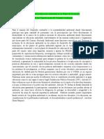 La inclusión de la Educación Ambiental en los Planes de Desarrollo