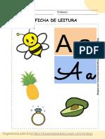 FICHAS ALFABETO