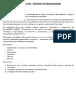 Apuntes de Clase Elementos de Neuropsiquiatría