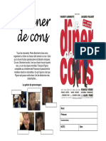 Dossier LE DINER DES CONS