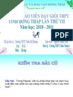 Bai Giang Trinh Chieu String t1 Good