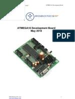 ATMEGA16 Developement Board