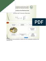 Métodos de cuantificación e identificación de metabolitos secundarios
