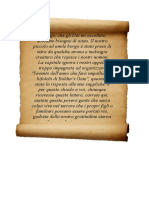 Lettera Borgo sempreverde