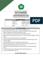 8. SOAL UM  BAHASA ARAB TAHUN 2021 FINAL