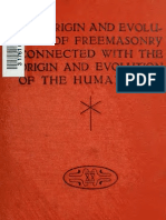 Albert Churchward - The Origin and Evolution of Freemasonry Connected with the Origin and Evolution of the Human Race