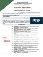 PLANO DOCENTE DE TRABALHO REMOTO 2021 - segundo quinzenal março